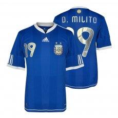 Argentina NT 2010 away shirt MILITO