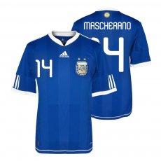 Argentina NT 2010 away shirt MASCHERANO