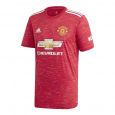 Manchester United 2020/21 home shirt, red