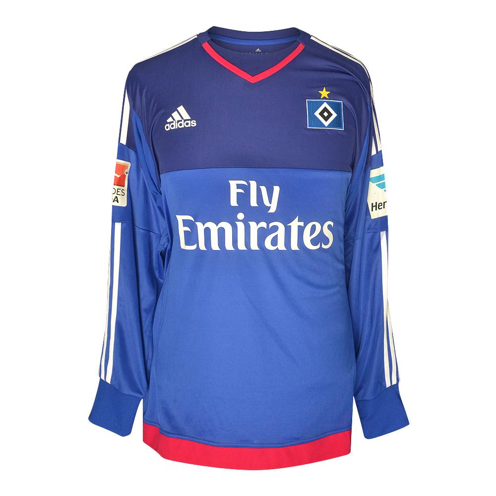 Hamburg 2015/16 match issue goalkeeper shirt DROBNY