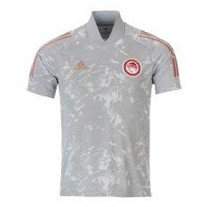 Olympiacos 2020/21 training t-shirt Adidas CON20, grey