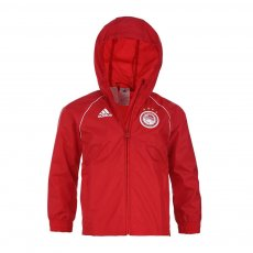 Olympiacos 2020/21 junior windbreaker jacket Adidas, red