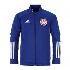 Olympiacos 2020/21 junior training track top Adidas, blue