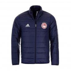 Olympiacos 2020/21 hotel jacket Adidas, dark blue