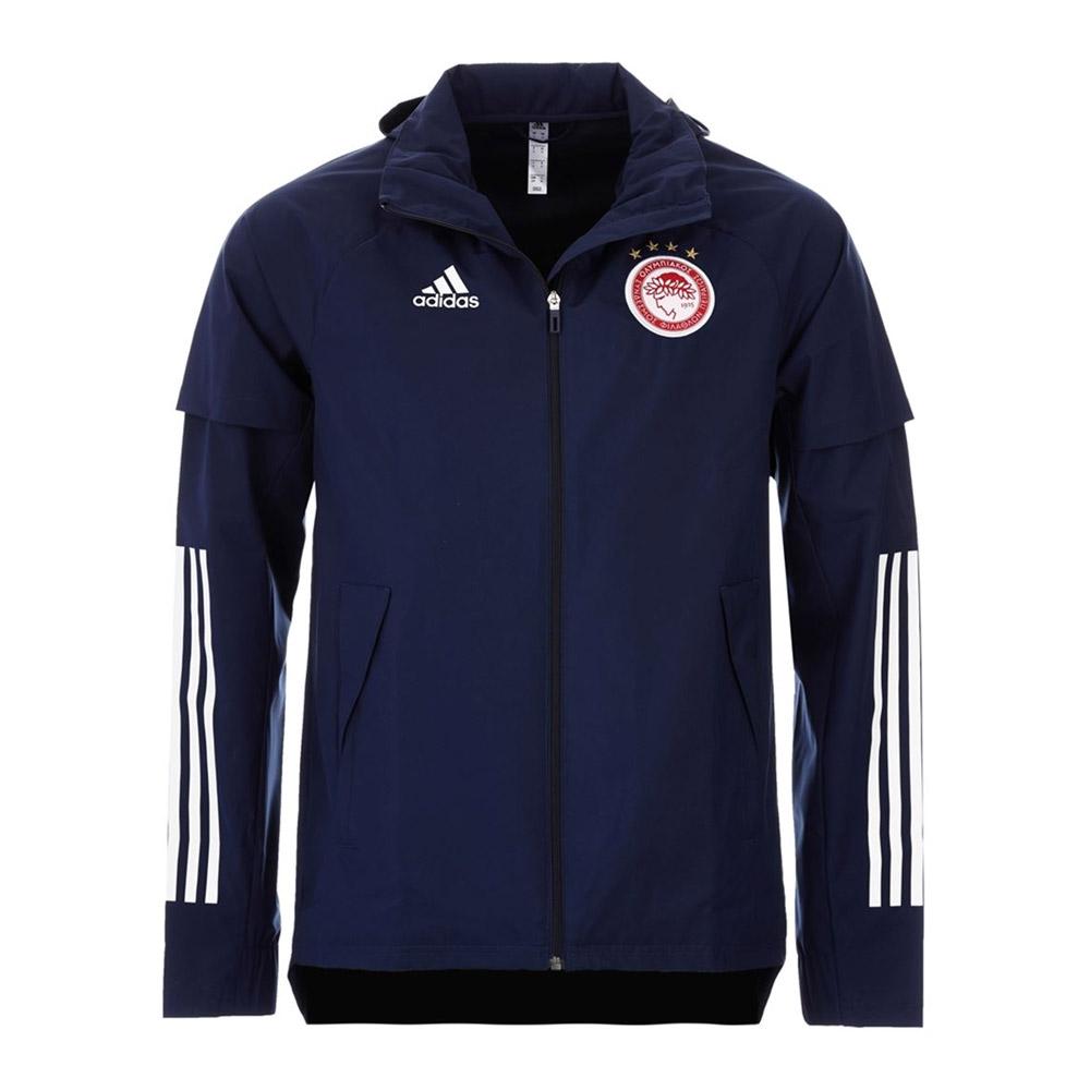 Olympiacos 2020/21 windbreaker jacket Adidas, dark blue