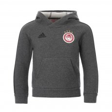 Olympiacos 2020/21 junior footer with hood Adidas, grey