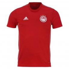 Olympiacos 2020/21 junior training t-shirt Adidas, red