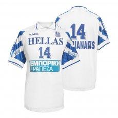 Greece NT 1994 volley shirt AMARIANAKIS