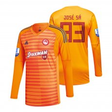 Olympiakos 2018/19 goalkeeper shirt JOSE SA