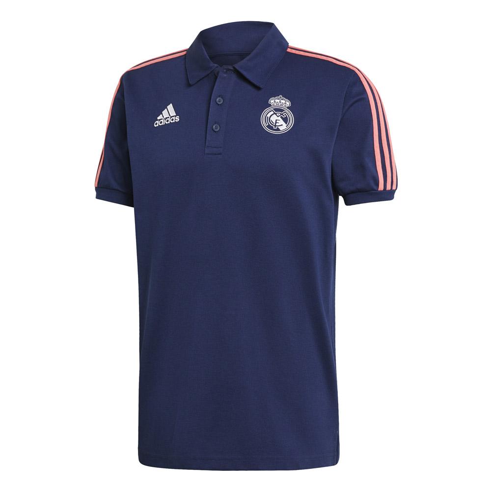 Real Madrid 2020/21 presentation polo t-shirt, dark blue