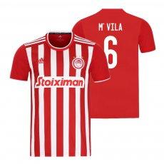 Olympiakos 2021/22 home shirt M'VILA