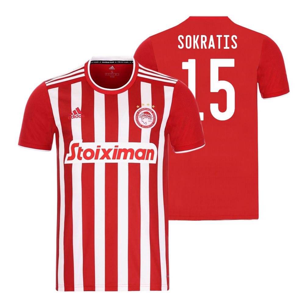 Olympiakos 2021/22 home shirt PAPASTATHOPOULOS