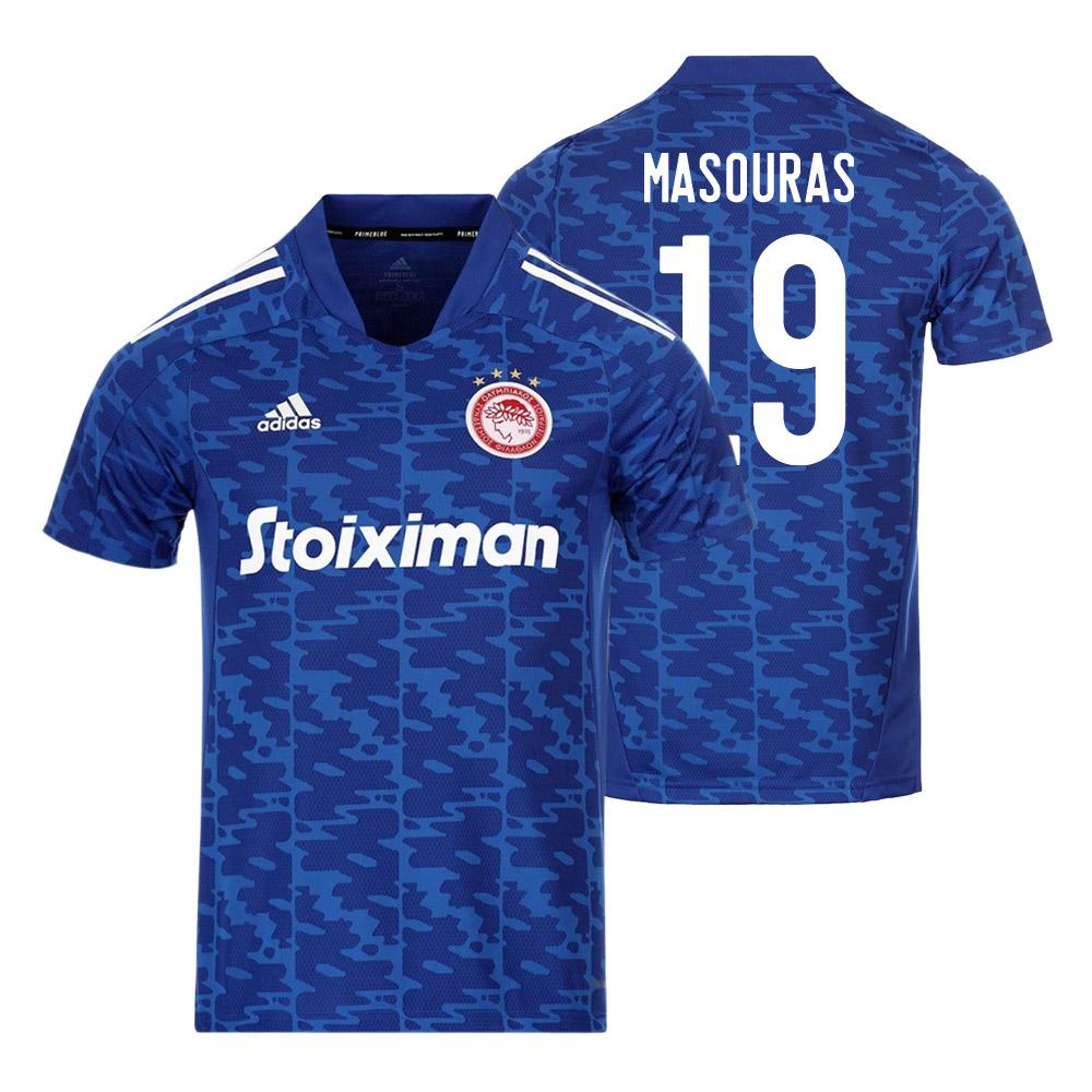 Olympiakos 2021/22 away shirt MASOURAS