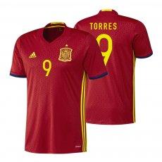 Spain 2016 home shirt TORRES