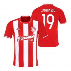Olympiacos 2015/16 home shirt CAMBIASSO
