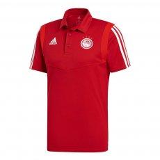 Olympiacos 2019/20 polo presentation Adidas, red