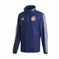 Olympiacos 2019/20 light rain jacket Adidas, dark blue