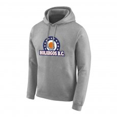 Holargos BC 'Emblem' footer with hood, grey