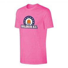 Holargos BC 'Emblem' t-shirt, pink
