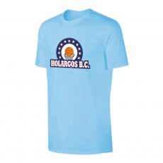 Holargos BC 'Emblem' t-shirt, light blue