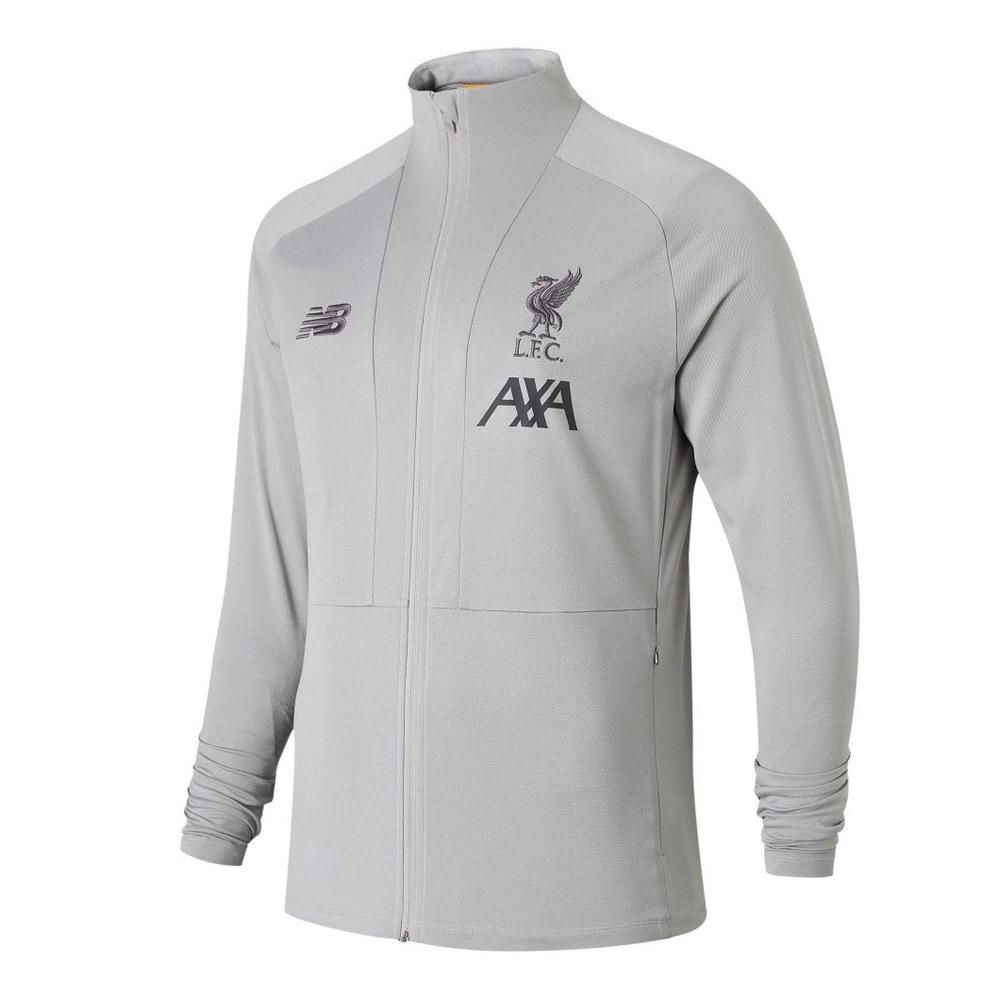 Liverpool 2019/20 kids track top jacket 'Phantom', grey
