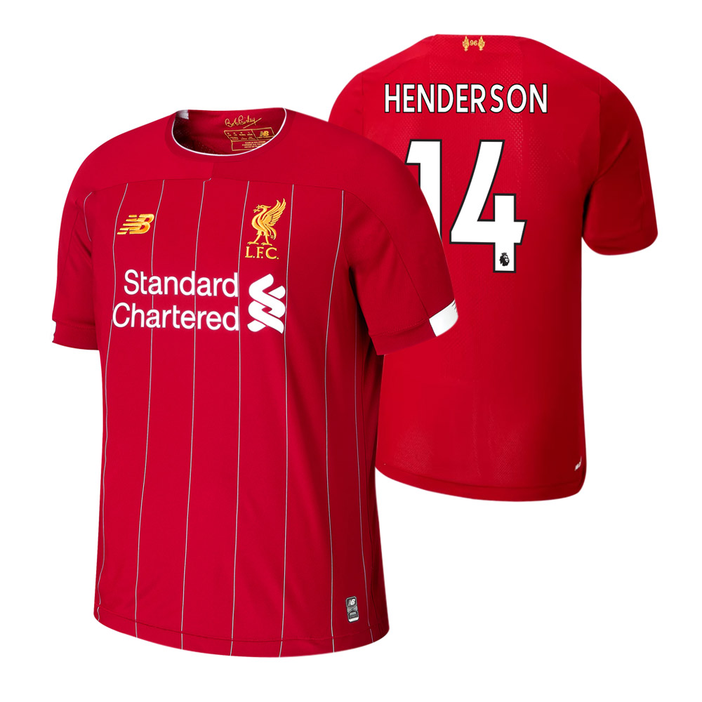 Liverpool 2019/20 junior home shirt HENDERSON