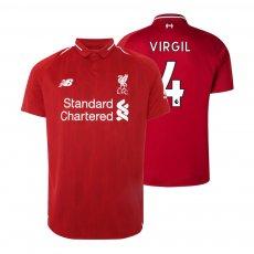 Liverpool 2018/19 home shirt VIRGIL
