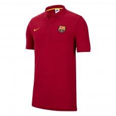Barcelona Nike polo T-shirt, crimson
