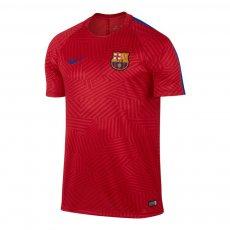 Barcelona training shirt Dry Nike, red