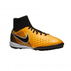 Nike MagistaX Onda II (TF) DF junior football shoes, yellow/black