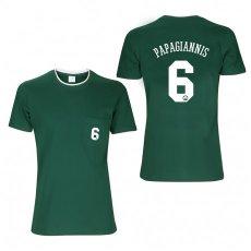 Panathinaikos BC 2018/19 Numbered t-shirt PAPAGIANNIS, green