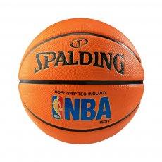 Logoman Soft Grip Rubber Ball (Size 7) Spalding