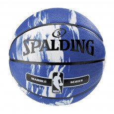 NBA Marble Series Blue ball (Size 7) Spalding