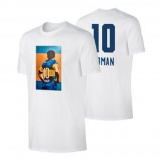 "Román Riquelme ""No10"" t-shirt, white"