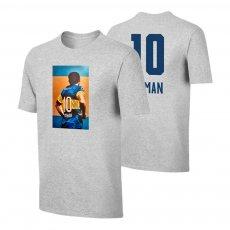 """Román Riquelme """"No10"""" t-shirt, grey"""