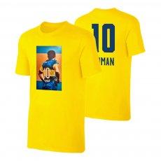 "Román Riquelme ""No10"" t-shirt, yellow"