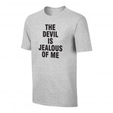 Haaland 'THE DEVIL IS JEALOUS OF ME' t-shirt, grey