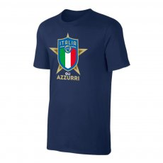 Italy EU2020 'GLI AZZURRI' t-shirt, dark blue