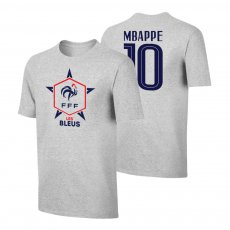 France EU2020 'LES BLEUS' t-shirt MBAPPÉ, grey