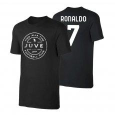 Juventus 'Stamp' t-shirt RONALDO, black