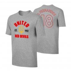 Manchester United 'Est.1902' t-shirt FERNANDEZ, grey