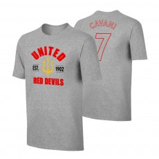 Manchester United 'Est.1902' t-shirt CAVANI, grey