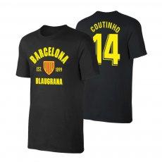 Barcelona 'Est.1899' t-shirt COUTINHO, black