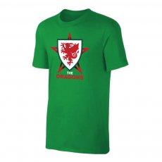 Wales EU2020 'THE DRAGONS' t-shirt, green