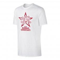 Switzerland EU2020 'NATI ROSSOCROCIATI' t-shirt, white