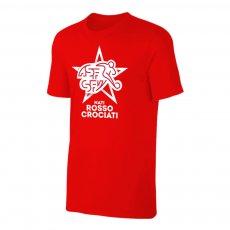 Switzerland EU2020 'NATI ROSSOCROCIATI' t-shirt, red