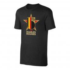 Belgium EU2020 'LES DIABLES ROUGES' t-shirt, black