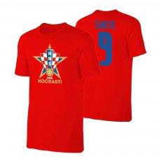 Croatia EU2020 'KOCKASTI' t-shirt SUKER, red