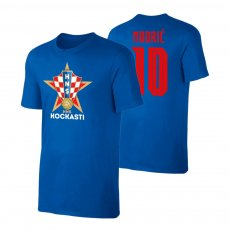Croatia EU2020 'KOCKASTI' t-shirt MODRIC, blue