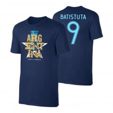 Argentina CA2021 'Qualifiers' t-shirt BATISTUTA, dark blue